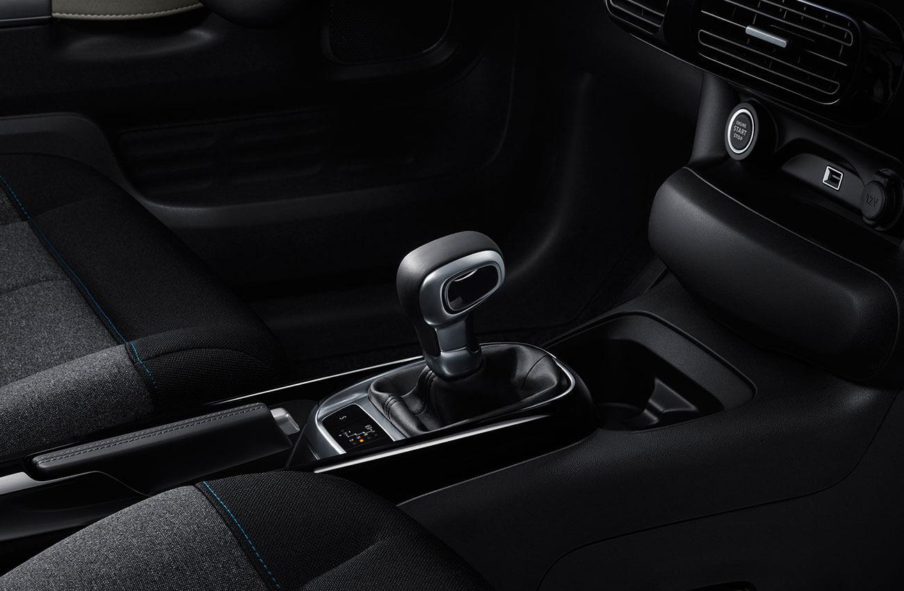 Citroën C-Elysée intérieur, vitesse
