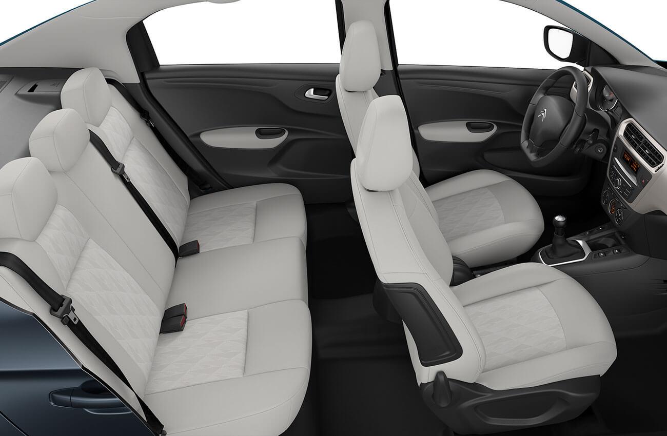 Citroën C-Elysée habitacle