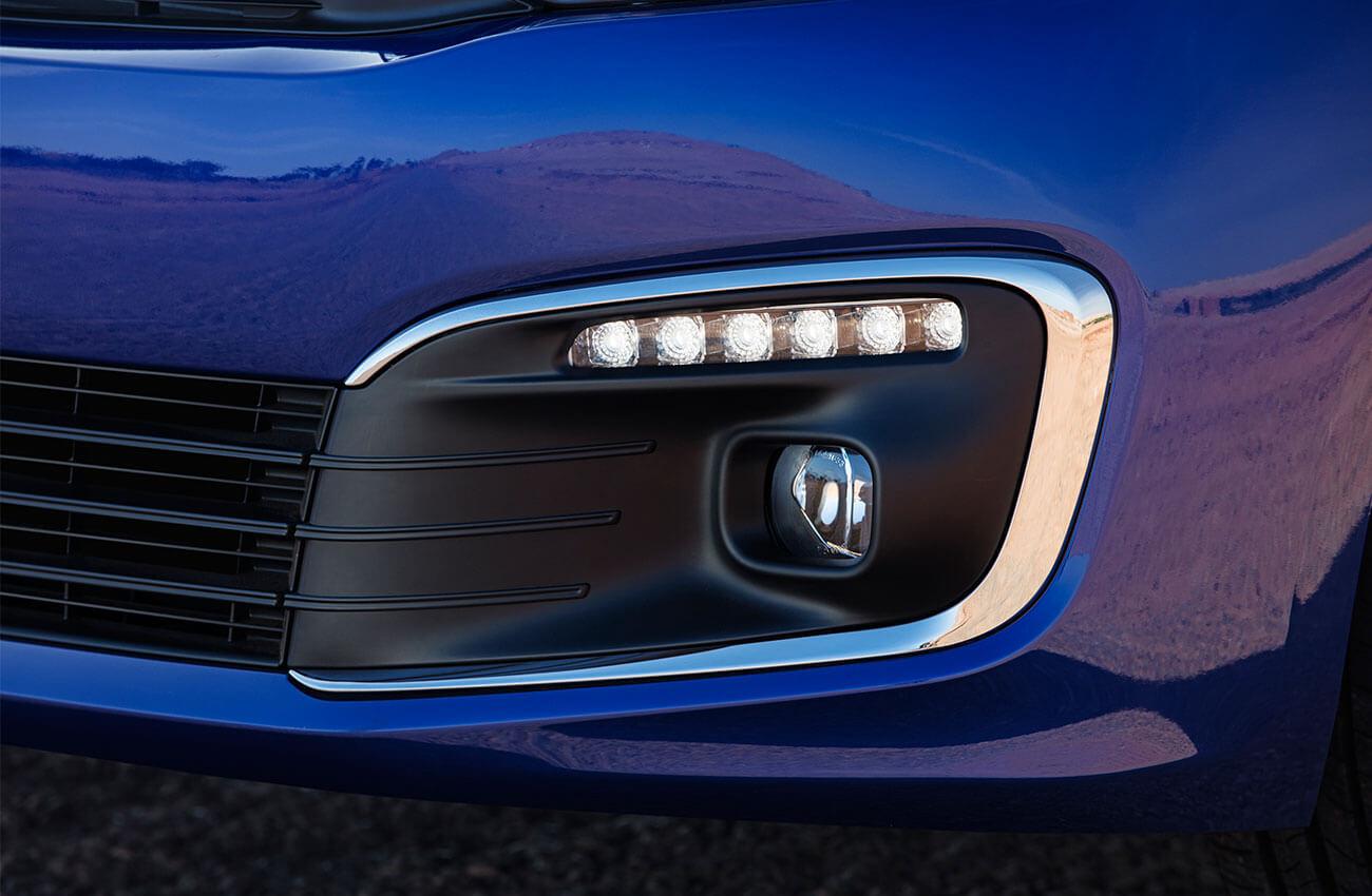 Citroën C-Elysée bleue