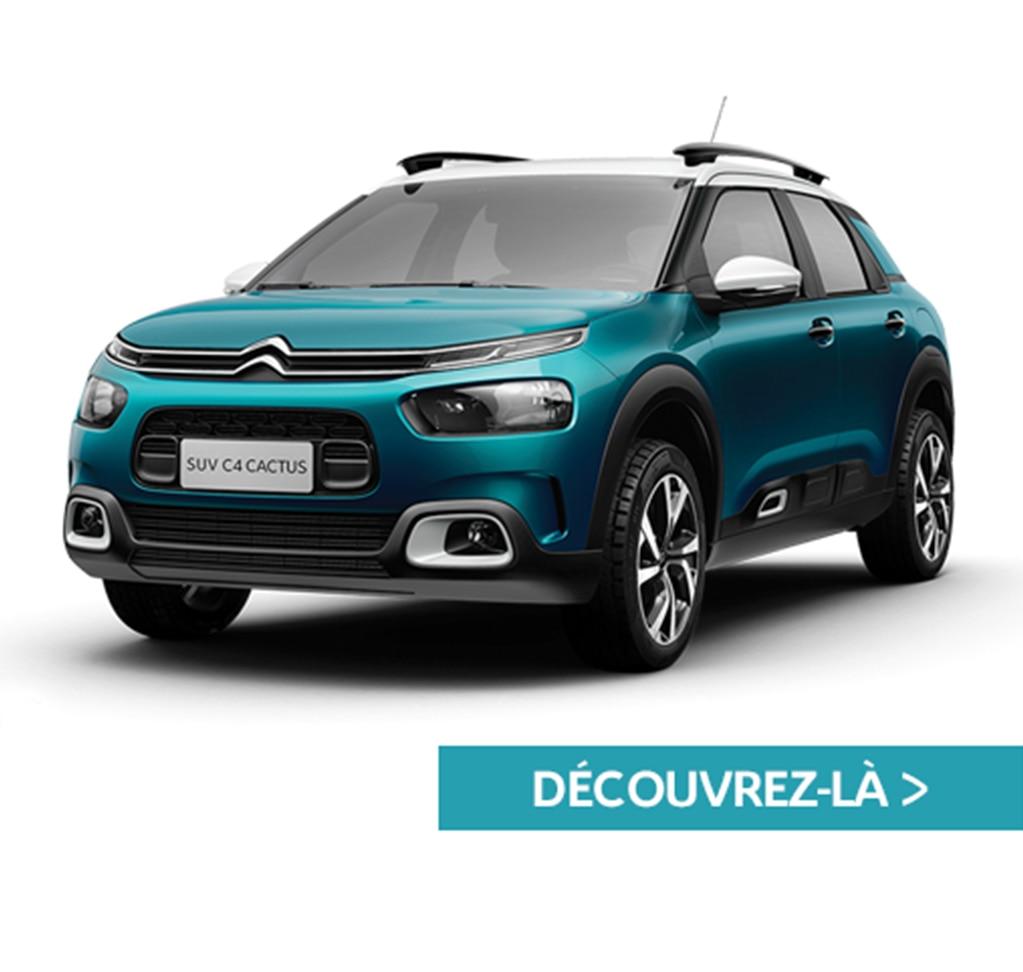 Bannière Citroën C4 Cactus - mobile